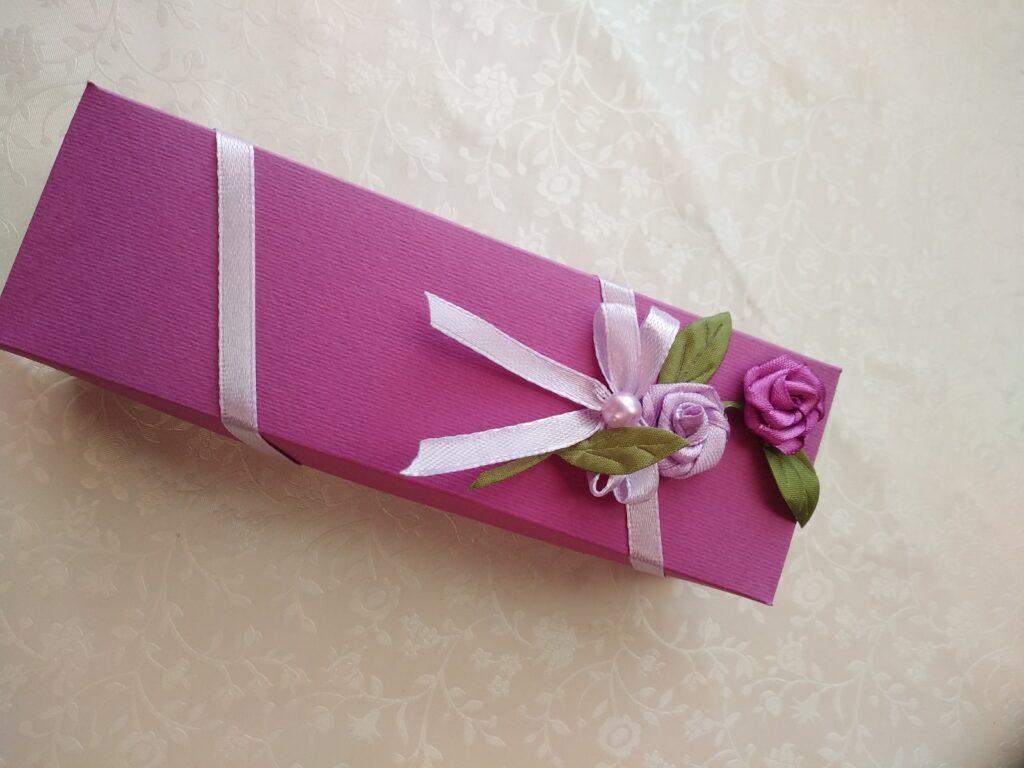 Подарункова коробочка для сертифікату